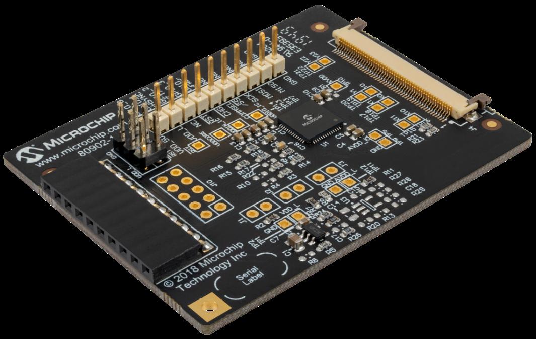 Microchip推出最小maXTouch®触摸屏控制器,应用于汽车智能面板和  多功能显示屏