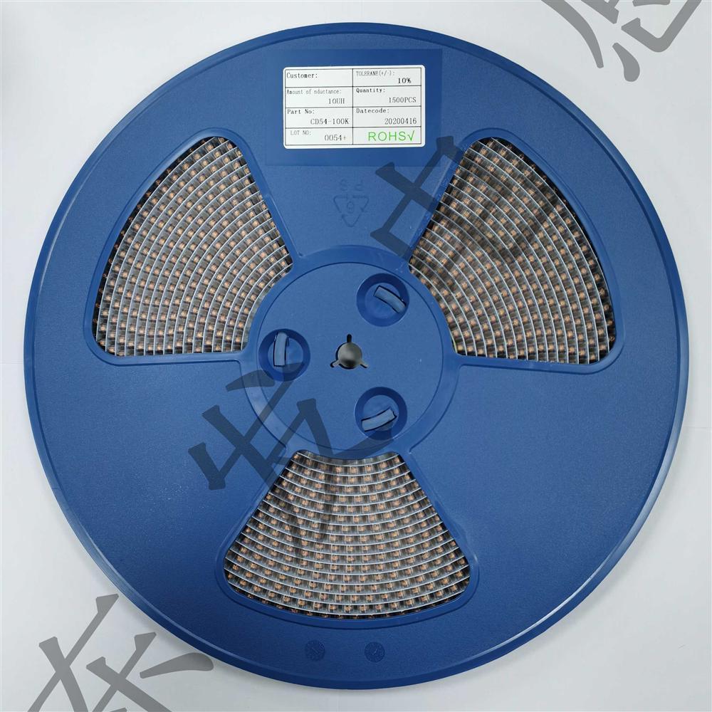 cd54电感_贴片功率电感 CD54-1R0K 1UH_贴片电感_维库电子市场网