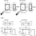 1-4μm微米高精du进口激光位移传感器型号BD-100
