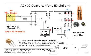 基于一种交流电源的LED照明电路设计