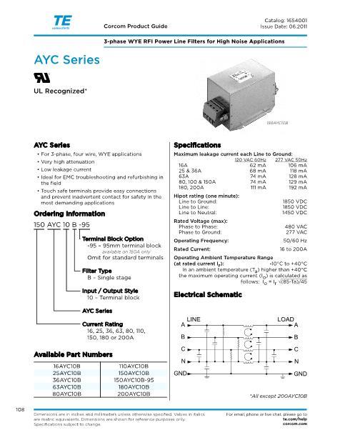180AYC10B数据手册封面