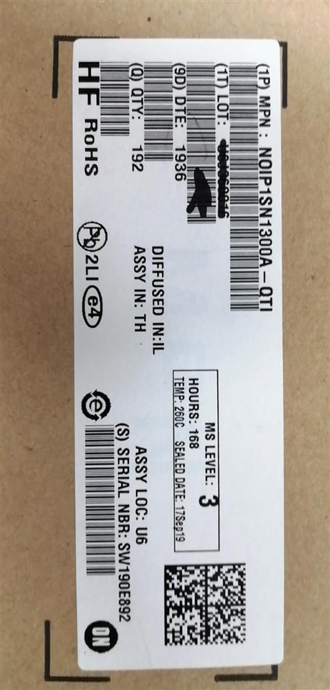 NOIP1SN1300A-QTI      ON 图像传感器