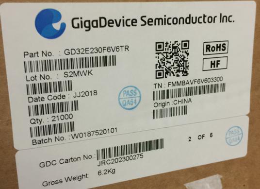 GD32E230F6V6TR/代理原装现货热卖