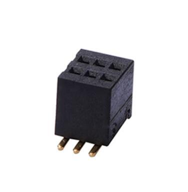 0.80间距排母连接器
