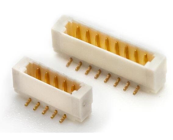 0.80间距线对板连接器