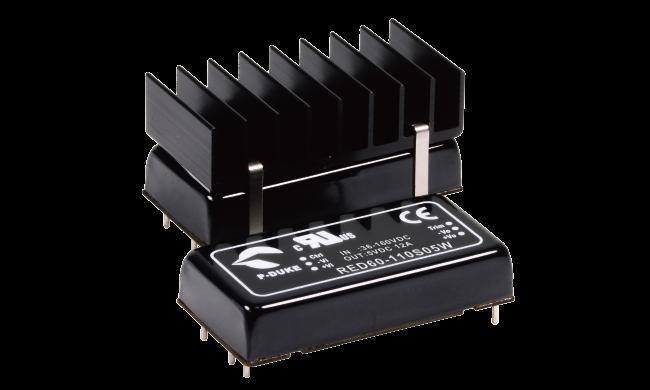 P-DUKE铁路电源模块RED60-24S3P3W RED60-24S12W  RED60-24S24W RED60-24S48W