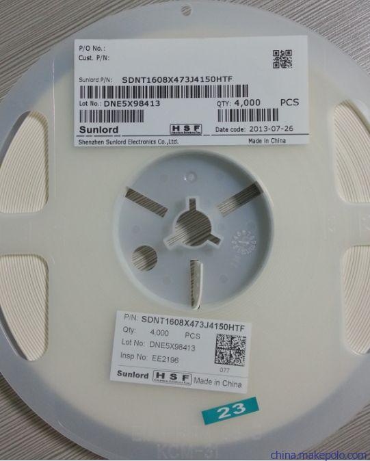 SDNT1608X683F4150FTF贴片热敏电阻让利销售
