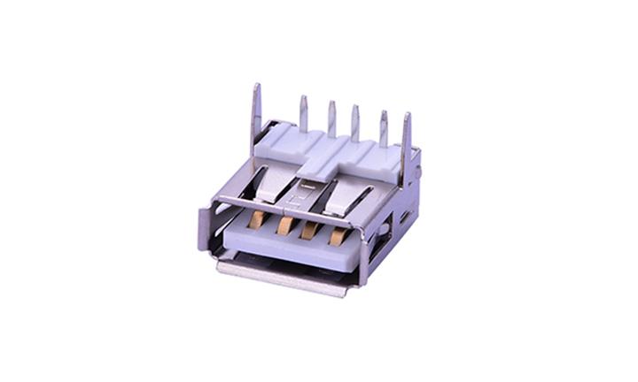 FUS230 2.0A/Type 母座 4Pin USB�B接器