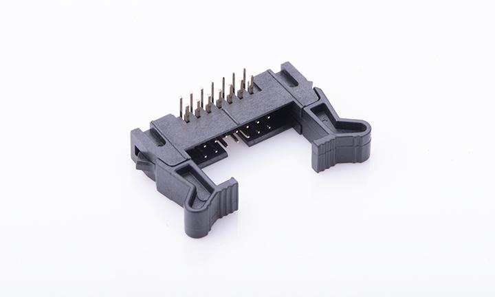 FBH20009-D14B1004K6K 2mm 90°插件(9T)(�L耳) 勾勾牛角