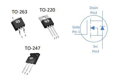 N-Ch功率MOSFET