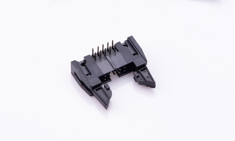 FBH25414-D10B1001K6K 勾勾牛角 2.54mm 90°插件(短耳)
