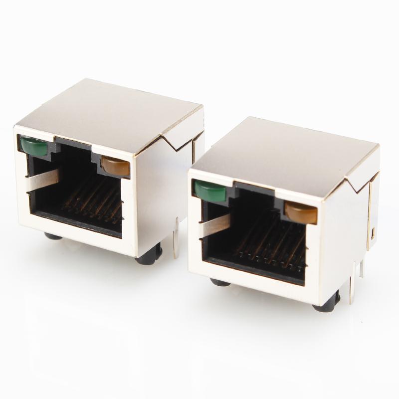 �S家直�N��RJ45屏蔽�W口�B接器8P8C
