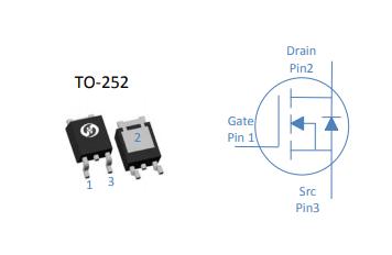 HGD029NE4SL功率MOSFET 45V N-Ch