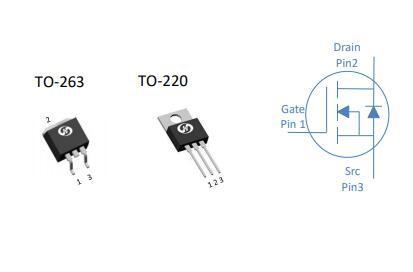 80V N-Ch功率MOSFET恒泰柯