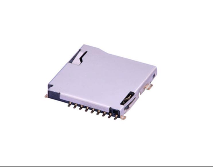 FCD403-7M  Mirco SD卡�B接器 自��式 特思嘉