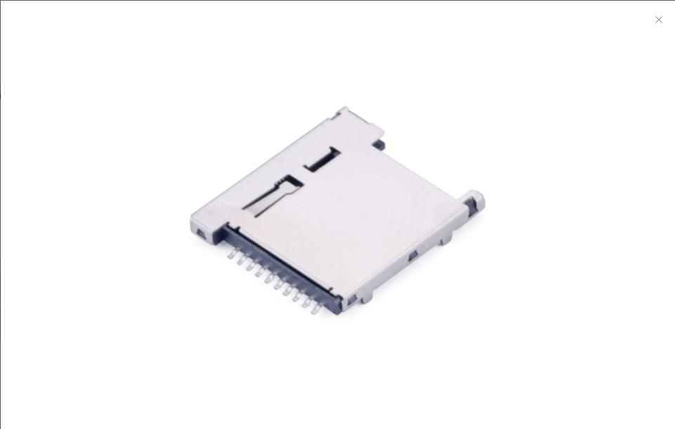 FCD419-7M  Micro SD卡4.0�B接器 自��式(H1.5mm)