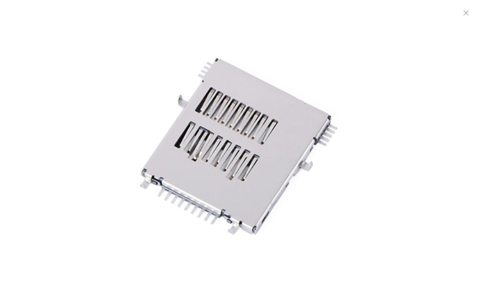 FCD420-7M  Micro SD卡4.0�B接器 自��式(H1.45mm)(沉板1.07mm)