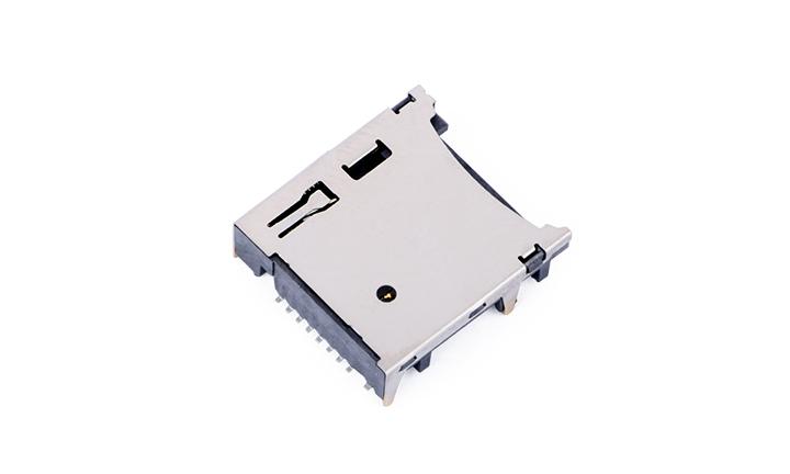 FCD424-7M  Micro SD卡4.0�B接器 自��式(H3.72mm)