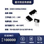 霍尔效应传感器-CH931/CH932/CH933
