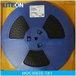 MOC3063S-TA1贴片光耦 三端双向可控硅输出