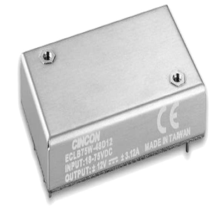 供��ECLB75W系列DC/DC�源模�KECLB75W-24S15 ECLB75W-24D12