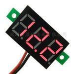微型 0.36寸数码管DC2.7V40V 两线可变精度数显示/数字电压表