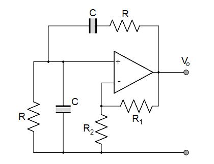维恩桥振荡器设计及反馈对输出频率的作用