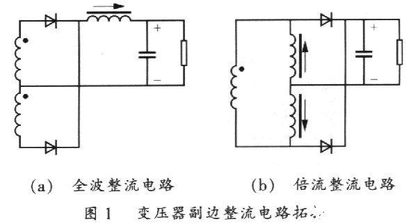 新型倍流整流电路拓扑在通信电源中的应用研究