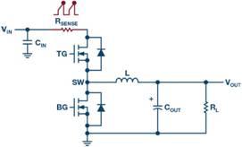 开关模式电源电流检测:检测电阻如何放置