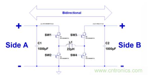 如何用碳化硅MOSFET设计双向降压-升压转换器?