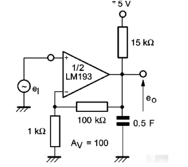 电压比较器可以当做运算放大器用吗?