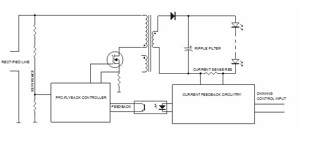 """可调光 LED 驱动器出现的闪烁和""""微光""""解决方案"""