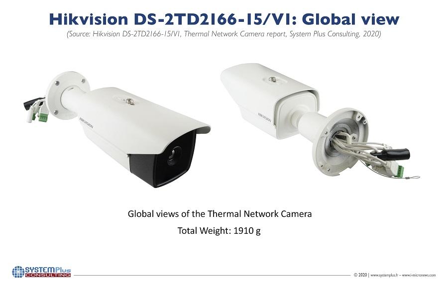 拆解海康威视智能热成像摄像机,关键器件来自华为海思和英特尔