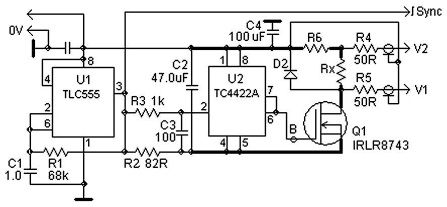 一种用于测量极低电阻的简单比率技术
