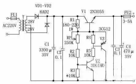 电源电路图详解