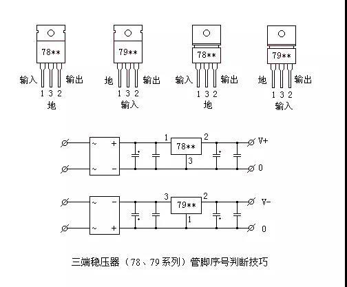 三端稳压集成应用电路介绍