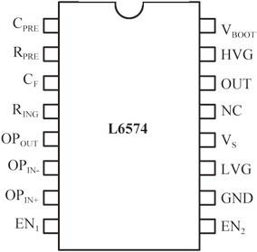 基于L6574的典型可调光镇流器电路